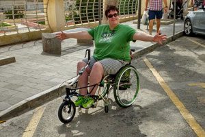 Wheelchair holiday